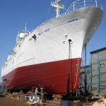 MY Pacific Hope in Dry Dock