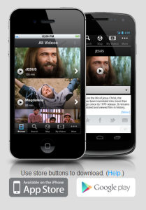 the Jesus Film Media Mobile App