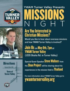 YWAM Turner Valley Missions Night