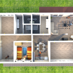 YWAM Germany Friends House Floorplan