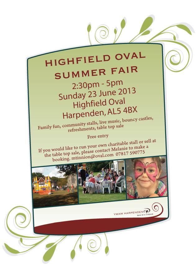 Highfield Oval Summer Fair - Harpenden, 23 June