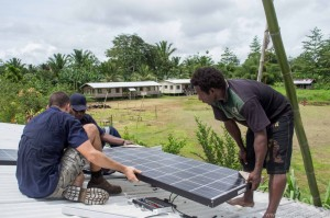 Solar Powered Fridge in Papua New Guinea PNG