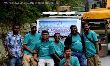 Uttarakhand Joshimath Disaster Relief Team