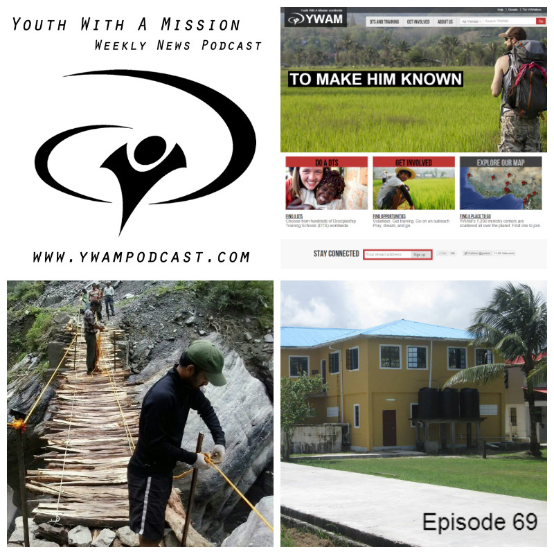 YWAM News Podcast Episode 69