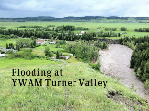 YWAM Turner Valley Alberta Flooding Letters