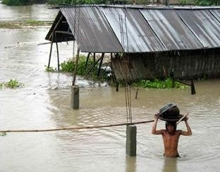 India Villages Affected by Floods