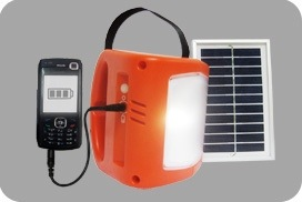 Solar Power Light for India Relief Work