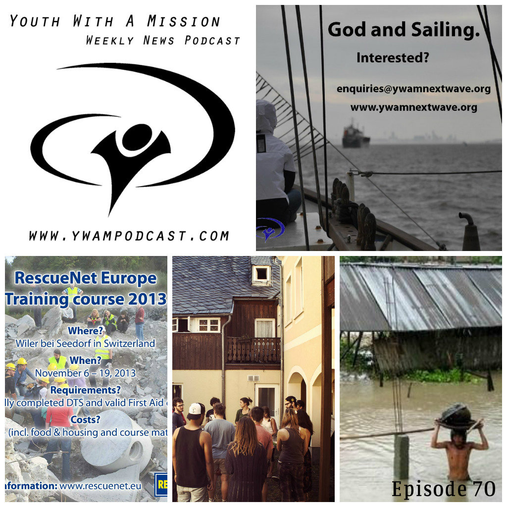 YWAM News Podcast Episode 70