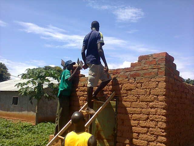 YWAM Rebuilding after and attack by the LRA