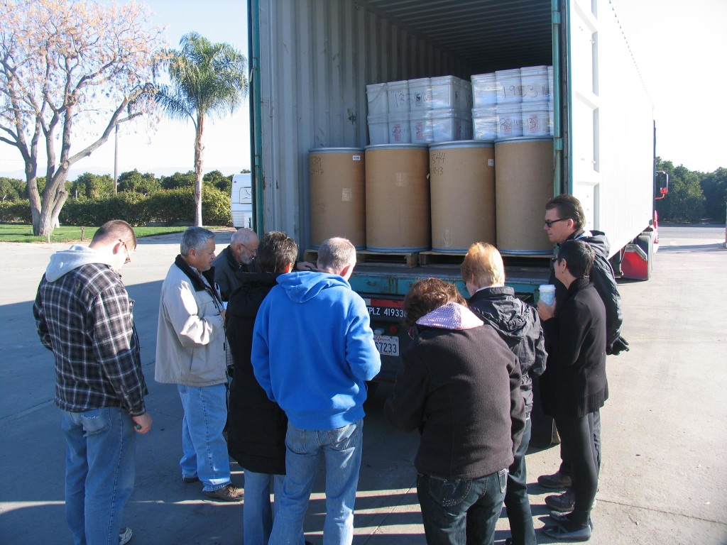 Gleanings for the Hungry Container to Philippines
