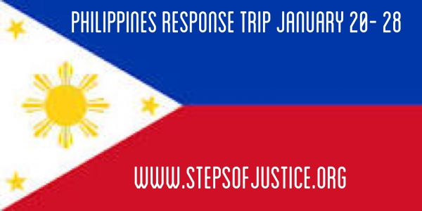Steps of Justice Philippines Response Trip