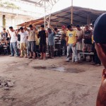 Team Xtreme Tonga at a Prison in the Philippines