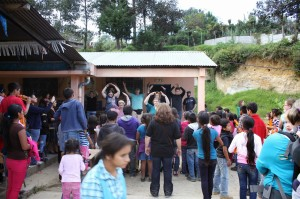 Vacation Bible School in Puarto Abajo Guatemala