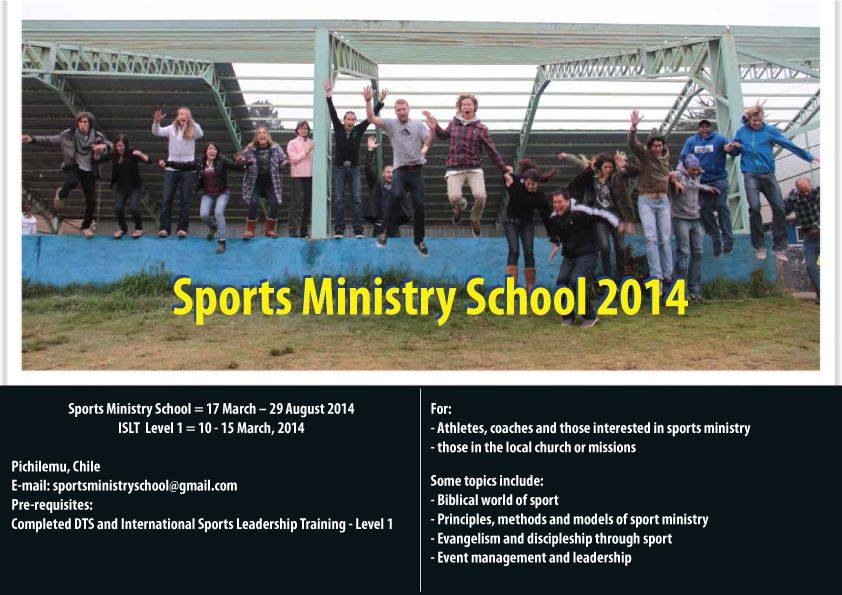 Sports Ministry School Chile 2014
