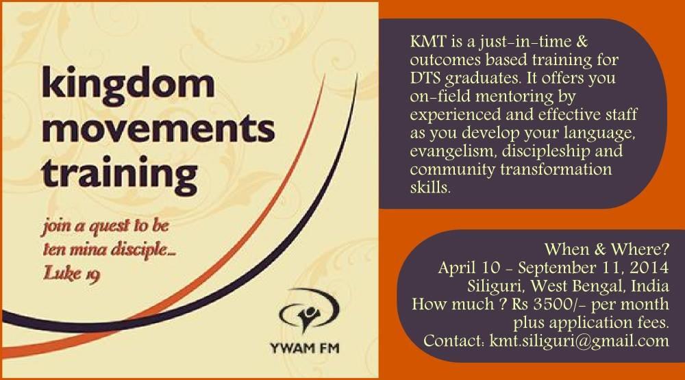 Kingdom Movements Training