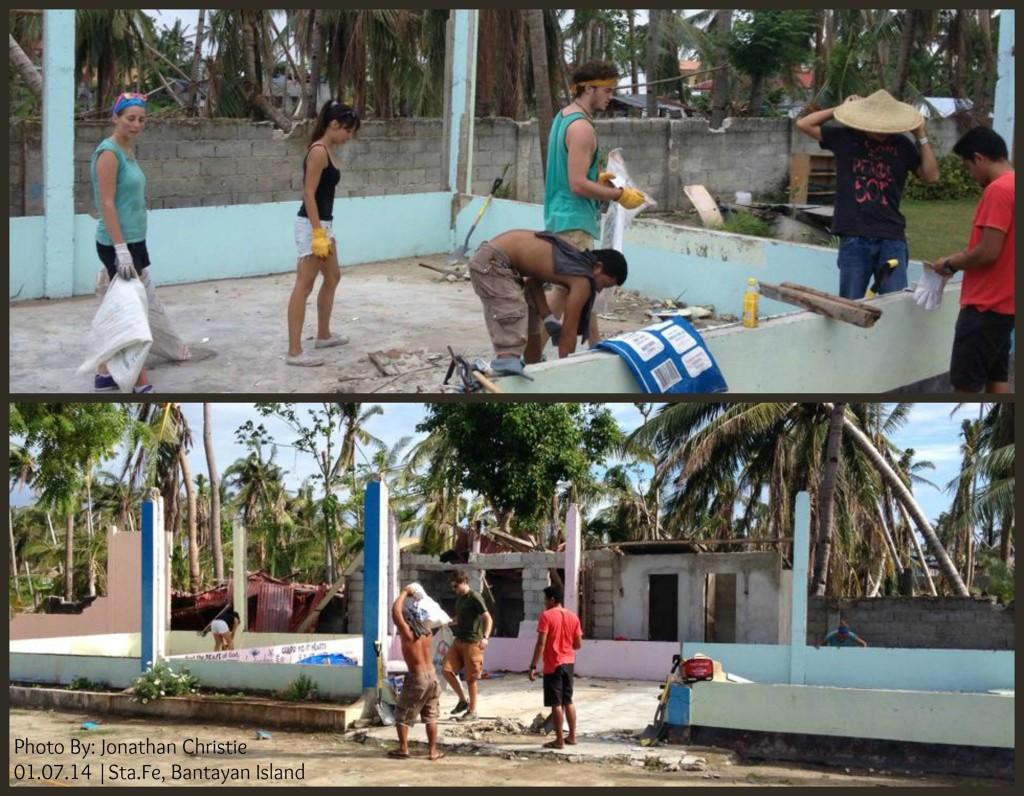 YWAM Rebuilding a school North of Cebu, Philippines