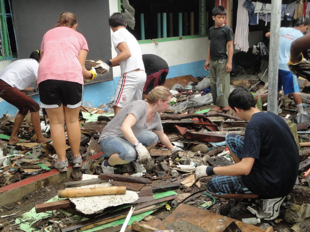 Philippines Typhoon YWAM Relief Work