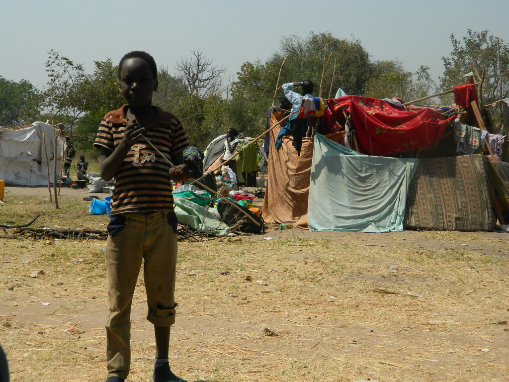 South Sudan Refugee Camp in Uganda