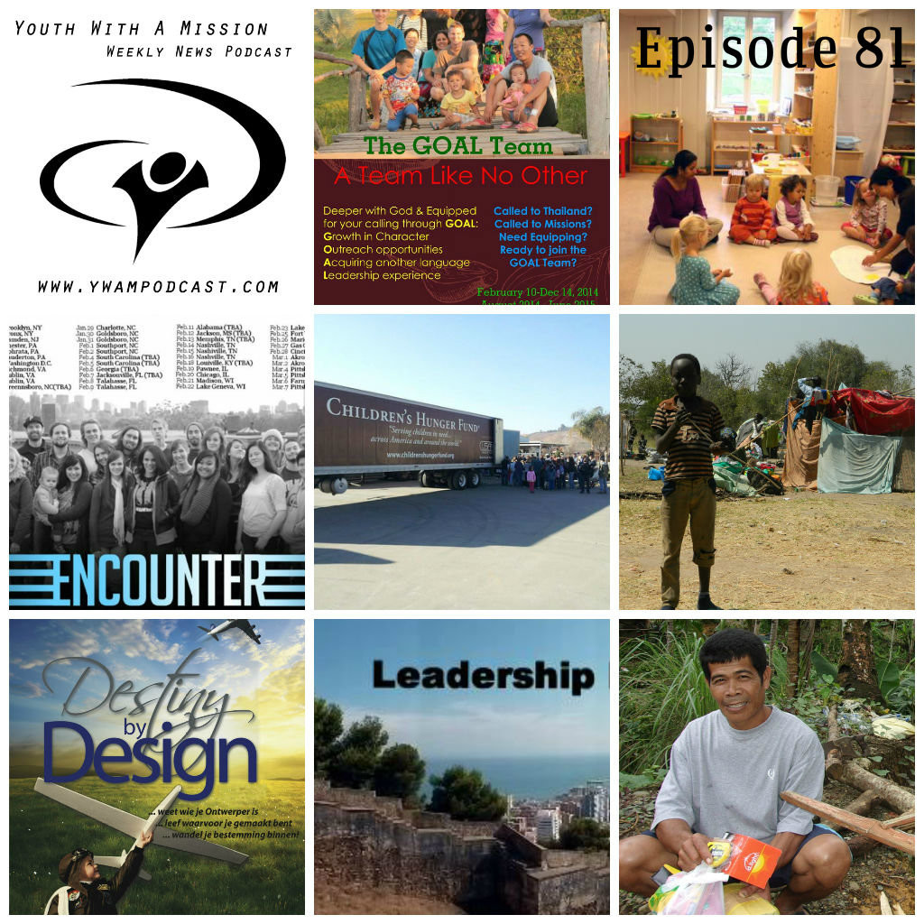 YWAM Podcast Episode 081 - How the Bible Transforms Nations, South Sudan Refugee Camp Update, Helping the Disabled in Latvia