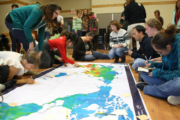 YWAM Vancouver School of Ministry and Leadership Development Map
