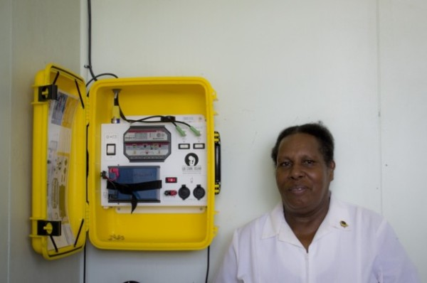 YWAM Solar Suitcase in Papua New Guinea