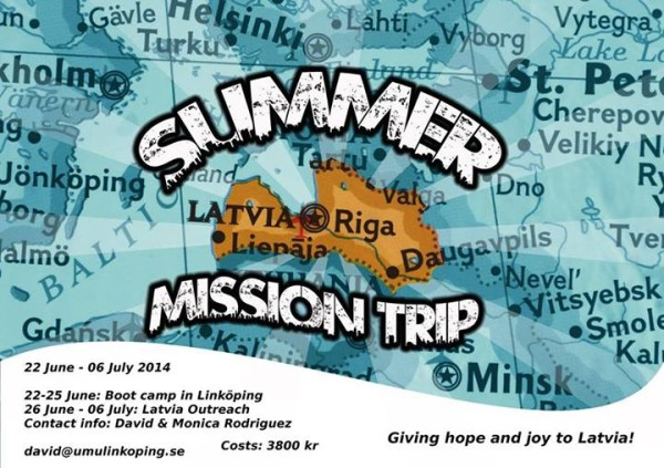 Latvia Summer Mission Trip