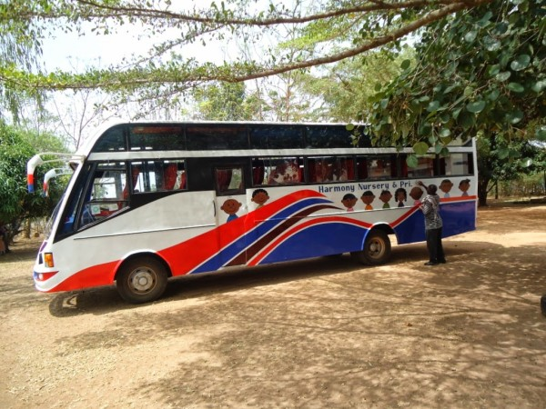YWAM Uganda Bus Conversion