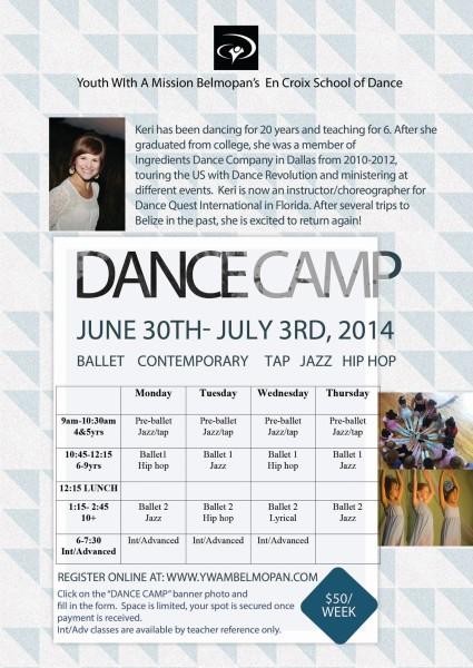 En Croix Dance Camp 2014