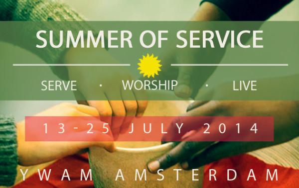 YWAM Amserdam Summer of Service 2014