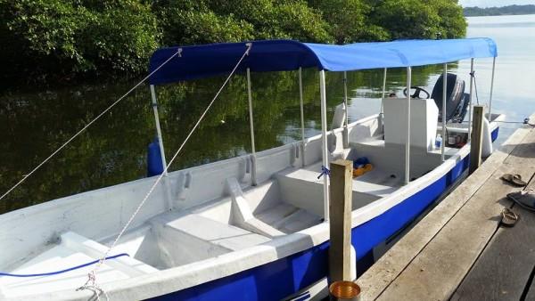 YWAM Panga New Boat