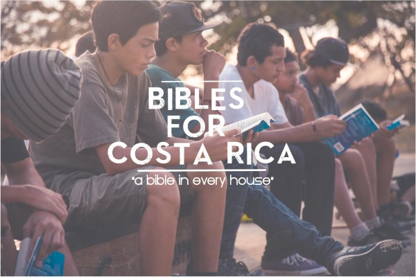 Bibles for Costa Rica